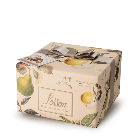 Loison Top Frutta e Fiori Panettone Noel Pear, Cinnamon, and Cloves 1 kg