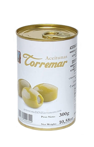 Torremar Anchovy Stuffed Manzanilla Olives 300g Tin 01