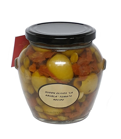 Torremar Pitted Gordal Olives Tomato Recipe 580g Orcio 01