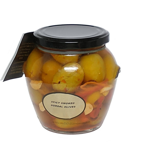 Torremar Smoked Gordal Olives Spicy 01