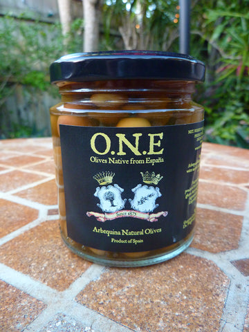 Arbequina natural Olives - O.N.E.