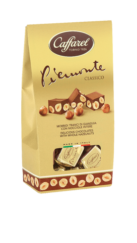 Piemonte Classico Gianduja Milk Chocolates with Whole Hazelnuts - Caffarel