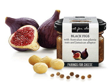 Sweet sauce with Black Figs, Australian Macadamia Nuts, and Jamaican Pepper - Can Bech
