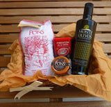 Paella Kit Basket - Medineterranean