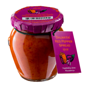 Dalmatia Red Pepper Spread - Ajvar - Dalmatia