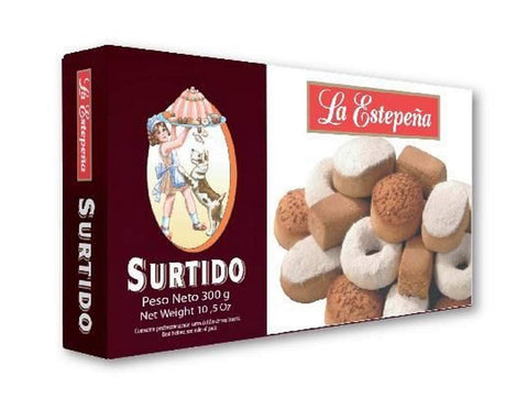 La Estepeña Mantecados and Polvorones Assortment - Shortbreads 300g - Medineterranean