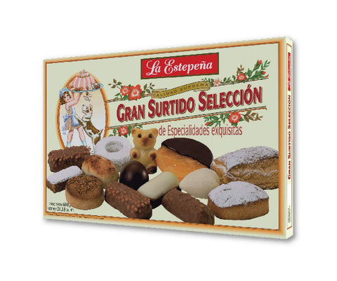 La Estepeña Gran Surtido Selección - Selected Assorted Pastries