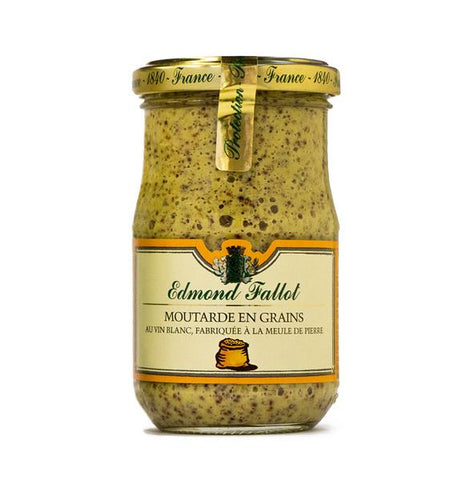 Edmond Fallot Old Fashion Grain Mustard - Edmond Fallot