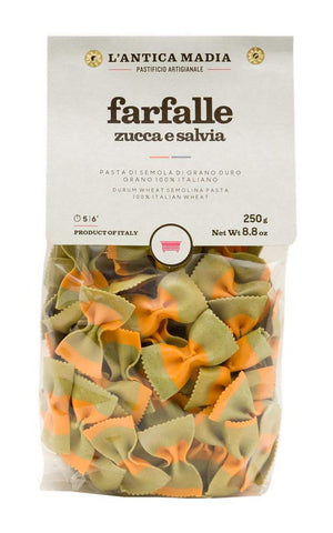 Farfalle Pasta with Sage and Pumpkin - L'Antica Madia