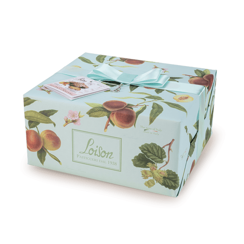 Loison Top Frutta e Fiori Colomba Peach and Hazelnuts 1kg 01