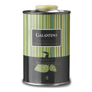 Galantino Extra Virgin Olive Oil with Basil - Galantino