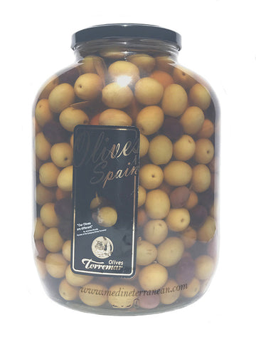 Whole Green & Black Olives 2780g