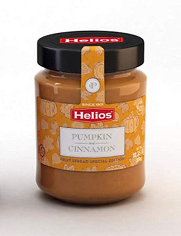 Helios Pumpkin and Cinnamon Fruit Spread. Special Edition - Helios