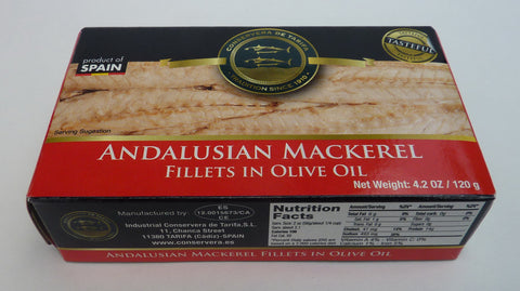 Andalusian Mackerel in Olive Oil - Conservera de Tarifa
