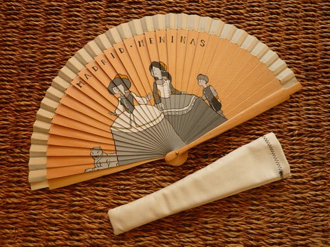 Spanish Handheld Fan (Spanish abanico) - Madrid Meninas - Medineterranean