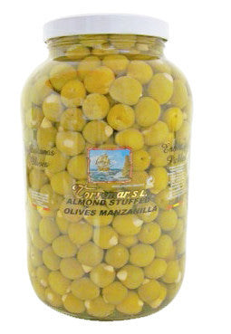 Almond stuffed Manzanilla olives 3700g