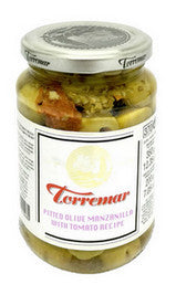 Pitted Manzanilla Olives with Tomato Recipe - Aceitunas Torremar