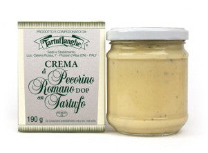 Tartuflanghe White Sauce with Truffle and Pecorino Romano Cheese - Tartuflanghe