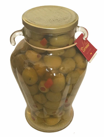 Torremar Pepper Stuffed Gordal Olives 1000g - Aceitunas Torremar