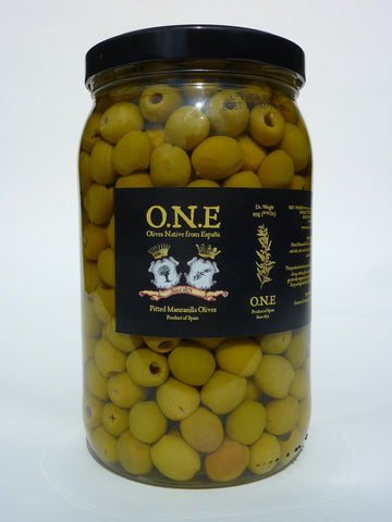 Pitted Manzanilla Olives - O.N.E.