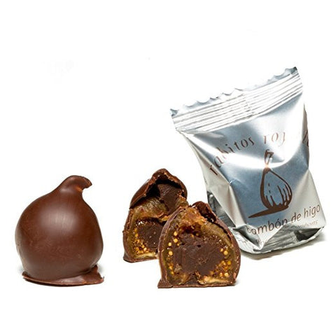 Rabitos Royale Dark Chocolate Fig Bonbons - La Higuera