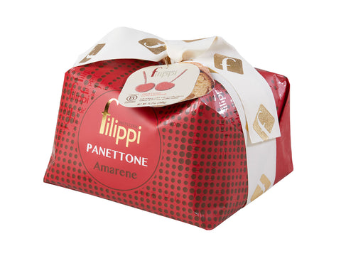 Filippi Panettone with Candied Black Cherries 1 kg