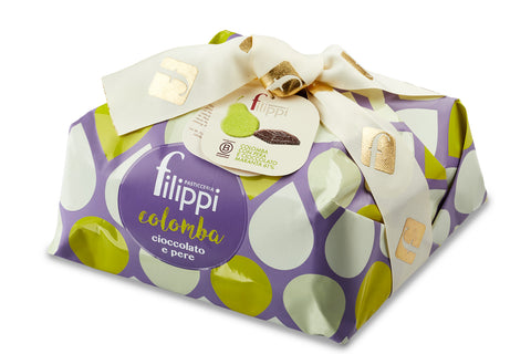 Filippi Colomba with Pears and Maranta Chocolate Special