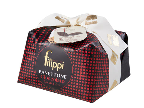Filippi Panettone with Maranta Chocolate 1000g