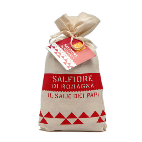 Sale di Cervia Pope's Salt - Cotton Bag 2.2 lb - Salina di Cervia