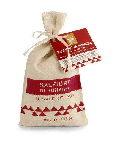 Sale di Cervia Pope's Salt - Cotton Bag 300 g - Salina di Cervia