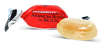 Serra Filled Candy with Juice of Sicilian Blood Orange 2.2 lbs - Serra