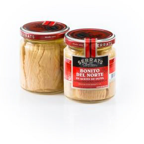 Serrats Bonito del Norte White Tuna in Olive Oil - jar