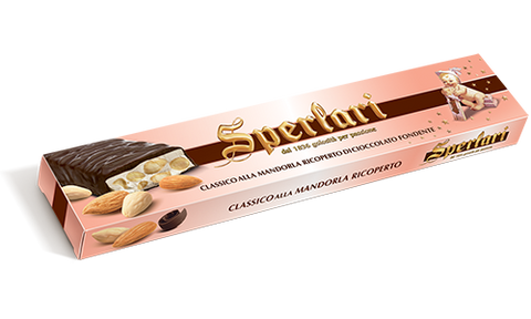 Sperlari Torrone Classic Almonds and Chocolate  Bar - Sperlari