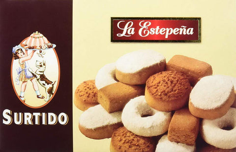 La Estepeña Mantecados and Polvorones Assortment - Shortbreads 650g - Medineterranean