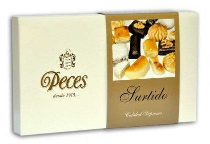 Marzipan assortment 400g - Peces