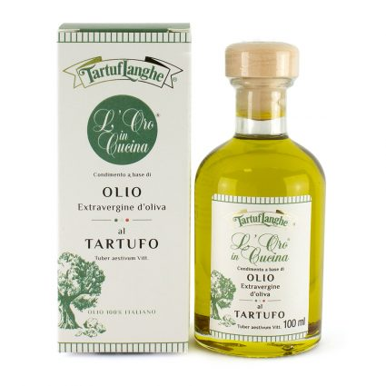 Oro in cucina - Extra Virgin Olive Oil with Summer Truffle Slices - Tartuflanghe