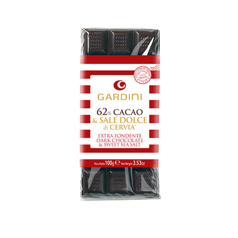 Gardini 62 Cocoa with Sweet Salt of Cervia