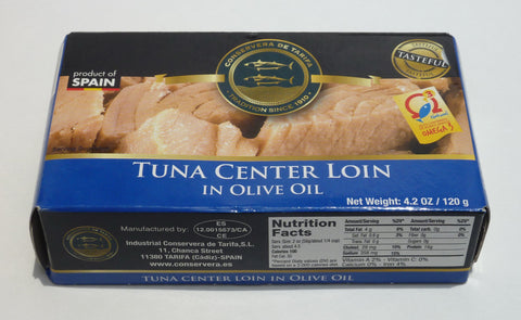 Tuna Center Loin in Olive Oil - Conservera de Tarifa