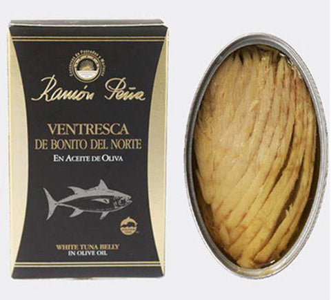 Ramón Peña White Tuna Belly in Olive Oil - Ramon Peña