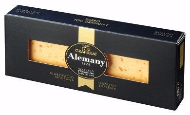 Soft Granulated Nougat Candy (Turron) - Alemany