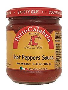 Tutto Calabria Hot Peppers Sauce - Tutto Calabria
