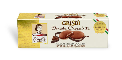 Vicenzi Grisbi Double Chocolate Cookies - Vicenzi