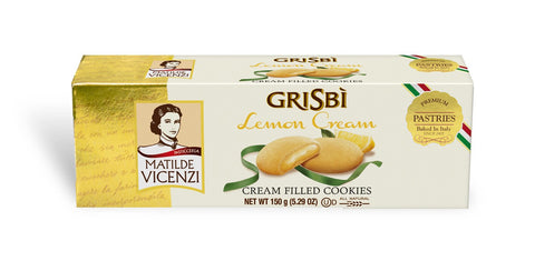 Vicenzi Grisbi Lemon Cookies - Vicenzi