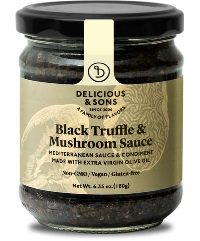 Black Truffle & Mushrooms Sauce - Delicious & Sons