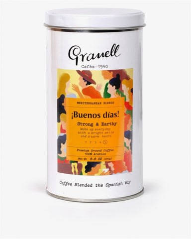 Granell Mediterranean Blend Buenos Dias Ground Coffee