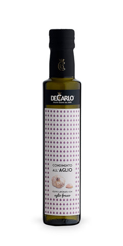 De Carlo Garlic Elixir Extra Virgin Olive Oil Condiment