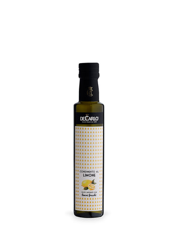 De Carlo Lemon Elixir Extra Virgin Olive Oil Condiment