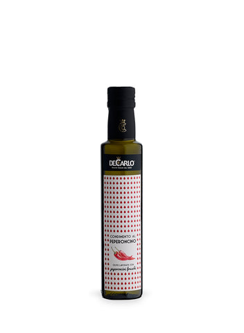 De Carlo Chili Elixir Extra Virgin Olive Oil Condiment