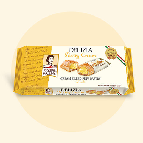 Vicenzi Delizia with Pastry Cream