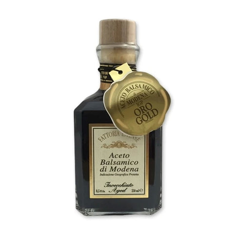 Fattoria Estense Balsamic Vinegar of Modena Gold Label DOP 12 Years Cubica